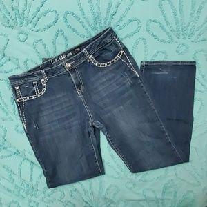 L.A. Idol Bling Jeans size 19 41x34